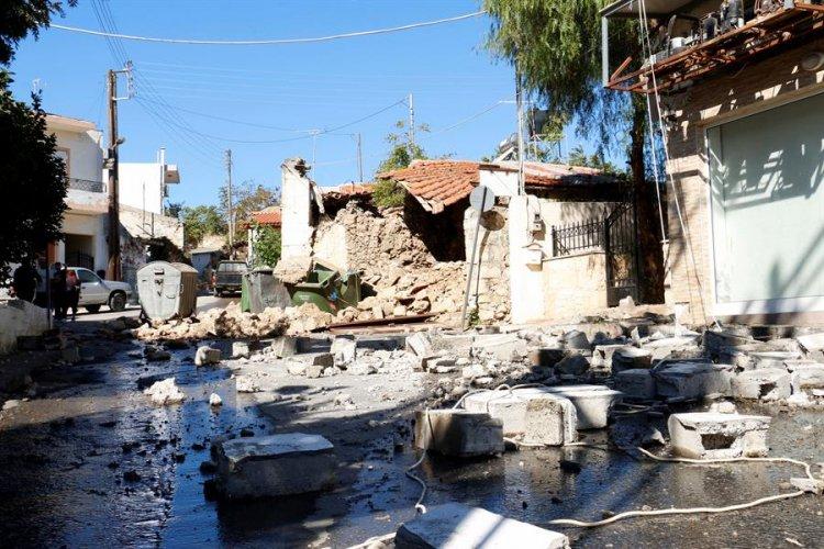Terremoto de magnitude 5,8 atinge a ilha grega de Creta e deixa ao menos um morto