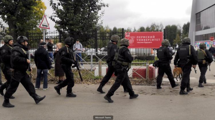Tiroteio em universidade deixa pelo menos 8 mortos e 24 feridos na Rússia