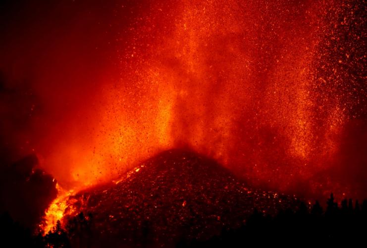 Serviço Geológico dos EUA descarta risco de tsunami após erupção de vulcão nas Ilhas Canárias
