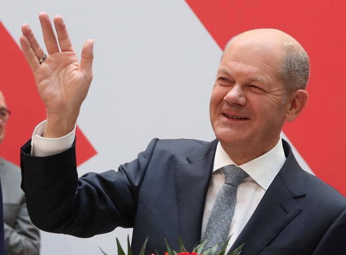 Partido Social-Democrata vence sigla de Merkel na Alemanha, apontam resultados iniciais