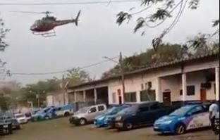 Presidiários envolvidos no sequestro do helicóptero no Rio são transferidos para ala de segurança máxima