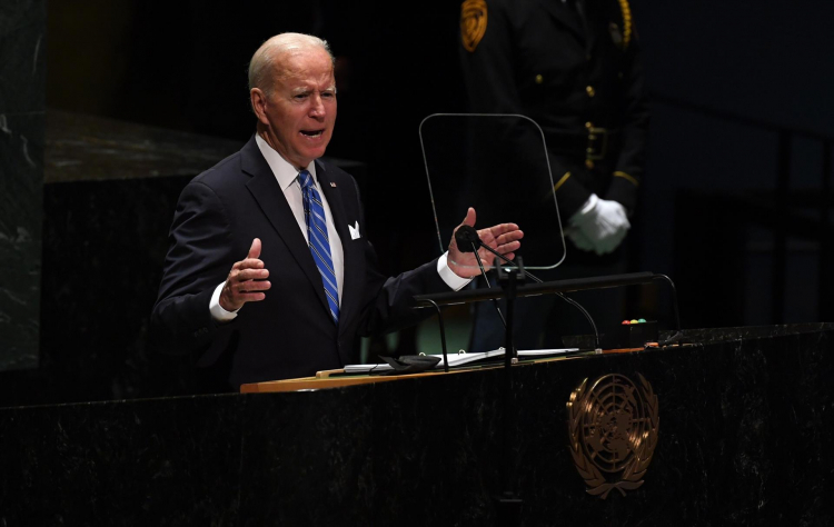 Na ONU, Biden reforça luta contra o terrorismo e diz que 'bombas' não combatem a Covid-19