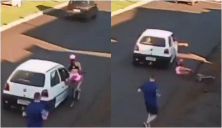 Suspeito de passar a mão em corpo de ciclista no Paraná é preso