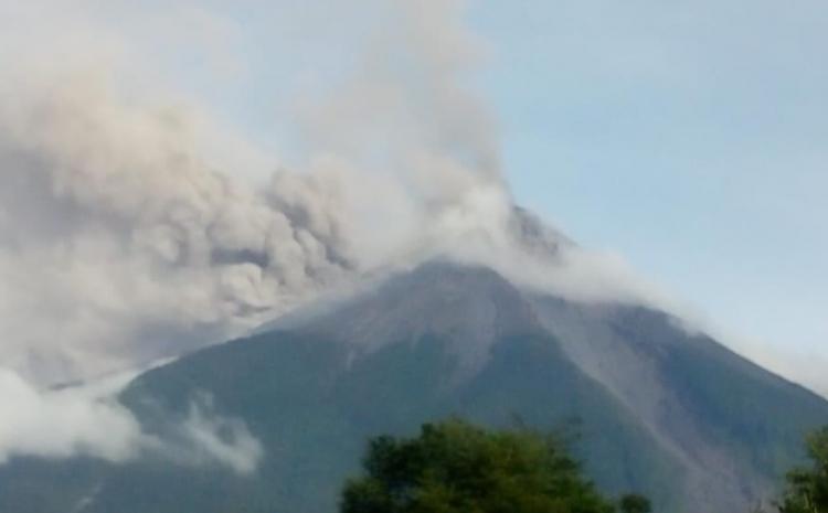 Guatemala entra em alerta após erupção do Vulcão de Fogo