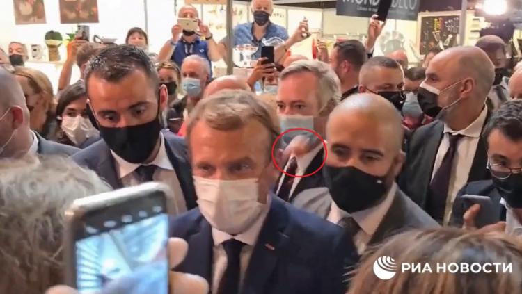 Presidente da França, Macron recebe ovada em evento na cidade de Lyon; veja vídeo