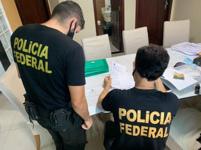 PF realiza operação contra fraudes com verbas federais da pandemia no Maranhão